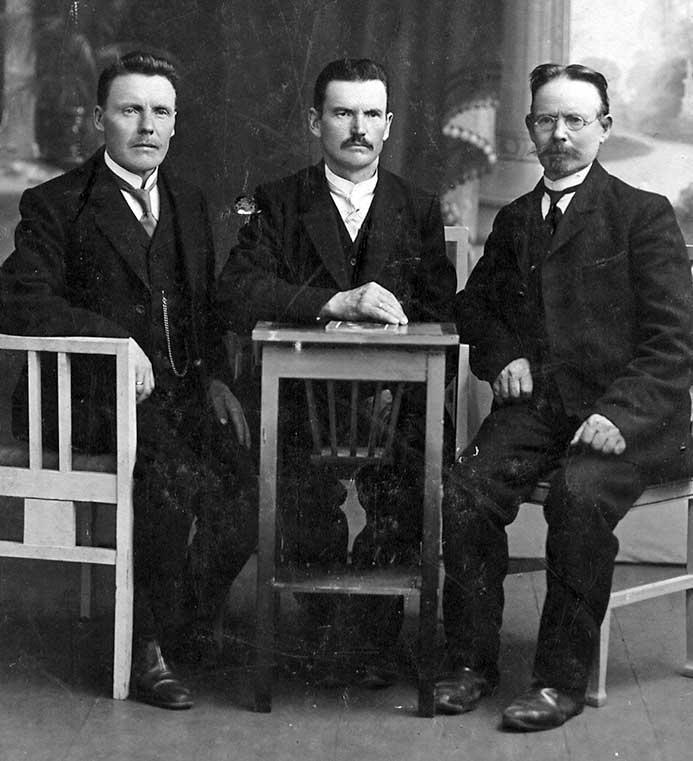 Haanimaalt peri kuulsa hõrilameistri Kriisa (kuralt): Tannil, Jakob ja Juhan